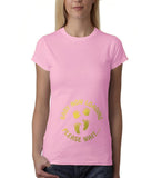 "Baby now loading funny pregnancy Gold Womens T Shirt-T Shirts-Gildan-Light Pink-S UK 10 Euro 34 Bust 32""-Daataadirect"