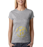 "Baby now loading funny pregnancy Gold Womens T Shirt-T Shirts-Gildan-Sport Grey-S UK 10 Euro 34 Bust 32""-Daataadirect"