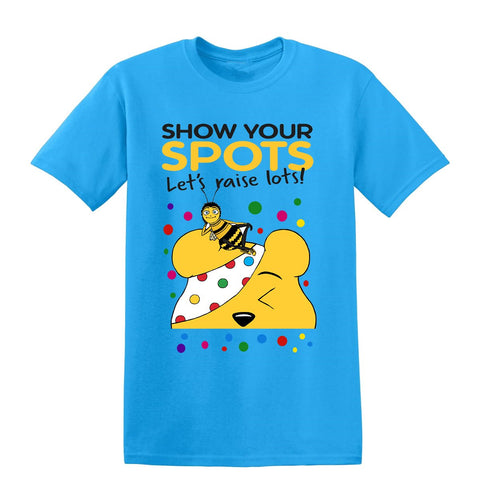 70f98aed Barry Spotty Day Cosmic Heroes Barry Kids T-Shirt-Gildan-Daataadirect.co