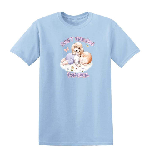 BFFs 20442HL6 Kids T Shirt-Gildan-Daataadirect.co.uk