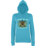 Born to be a Cage Fighter Women Hoodies-AWD-Daataadirect.co.uk
