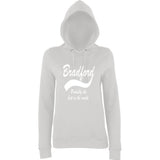 "BRADFORD Best City Women Hoodies White-Hoodies-AWD-Ash-XS UK 8 Euro 32 Bust 30""-Daataadirect"