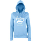 "BRADFORD Best City Women Hoodies White-Hoodies-AWD-Sky Blue-XS UK 8 Euro 32 Bust 30""-Daataadirect"