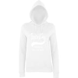 "BRIGHTON And HOVE Best City Women Hoodies White-Hoodies-AWD-Arctic white-XS UK 8 Euro 32 Bust 30""-Daataadirect"