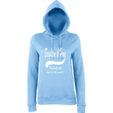 "BRIGHTON And HOVE Best City Women Hoodies White-Hoodies-AWD-Sky Blue-XS UK 8 Euro 32 Bust 30""-Daataadirect"