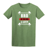 Bro Do You Even Lift Mens T Shirts-t-shirts-Gildan-Heather Military Green-S-Daataadirect
