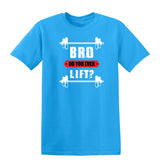 Bro Do You Even Lift Mens T Shirts-t-shirts-Gildan-Sapphire-S-Daataadirect