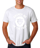 "[daataadirect.co.uk]-Brunch me in the face Men T Shirts White-T Shirts-Gildan-White-S To Fit Chest 36-38"" (91-96cm)-Daataadirect"