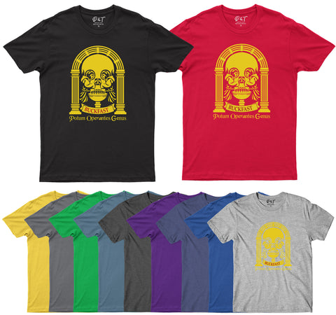Abbey Skull Mens T-Shirt-Gildan-Daataadirect.co.uk
