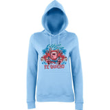 California Dream Te Quiero Women Hoodies-AWD-Daataadirect.co.uk