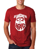 "Can I Buy U A Beard Men T Shirts White-T Shirts-Gildan-Antique Cherry-S To Fit Chest 36-38"" (91-96cm)-Daataadirect"