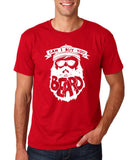"Can I Buy U A Beard Men T Shirts White-T Shirts-Gildan-Cherry Red-S To Fit Chest 36-38"" (91-96cm)-Daataadirect"