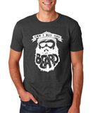 "Can I Buy U A Beard Men T Shirts White-T Shirts-Gildan-Dk Heather-S To Fit Chest 36-38"" (91-96cm)-Daataadirect"