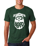 "Can I Buy U A Beard Men T Shirts White-T Shirts-Gildan-Forest Green-S To Fit Chest 36-38"" (91-96cm)-Daataadirect"