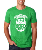"Can I Buy U A Beard Men T Shirts White-T Shirts-Gildan-Heather Irish Green-S To Fit Chest 36-38"" (91-96cm)-Daataadirect"