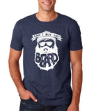 "Can I Buy U A Beard Men T Shirts White-T Shirts-Gildan-Heather Navy-S To Fit Chest 36-38"" (91-96cm)-Daataadirect"