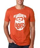 "Can I Buy U A Beard Men T Shirts White-T Shirts-Gildan-Heather Orange-S To Fit Chest 36-38"" (91-96cm)-Daataadirect"