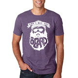 "Can I Buy U A Beard Men T Shirts White-T Shirts-Gildan-Heather Purple-S To Fit Chest 36-38"" (91-96cm)-Daataadirect"