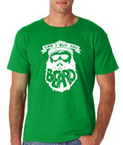 "Can I Buy U A Beard Men T Shirts White-T Shirts-Gildan-Irish Green-S To Fit Chest 36-38"" (91-96cm)-Daataadirect"