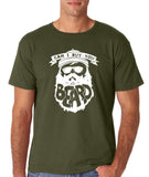"Can I Buy U A Beard Men T Shirts White-T Shirts-Gildan-Military Green-S To Fit Chest 36-38"" (91-96cm)-Daataadirect"