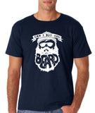 "Can I Buy U A Beard Men T Shirts White-T Shirts-Gildan-Navy Blue-S To Fit Chest 36-38"" (91-96cm)-Daataadirect"