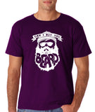 "Can I Buy U A Beard Men T Shirts White-T Shirts-Gildan-Purple-S To Fit Chest 36-38"" (91-96cm)-Daataadirect"