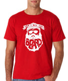 "Can I Buy U A Beard Men T Shirts White-T Shirts-Gildan-Red-S To Fit Chest 36-38"" (91-96cm)-Daataadirect"