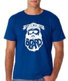 "Can I Buy U A Beard Men T Shirts White-T Shirts-Gildan-Royal Blue-S To Fit Chest 36-38"" (91-96cm)-Daataadirect"