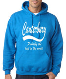 "CANTERBURY Best City Mens Hoodies White-Hoodies-Gildan-Antique Sapphire-S To Fit Chest 36-38"" (91-96cm)-Daataadirect"