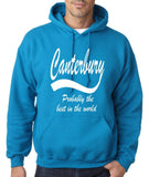 "CANTERBURY Best City Mens Hoodies White-Hoodies-Gildan-Sapphire-S To Fit Chest 36-38"" (91-96cm)-Daataadirect"