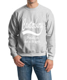 "[daataadirect.co.uk]-CANTERBURY Probably The Best City In The World Mens SweatShirt White-SweatShirts-Gildan-Ash-S To Fit Chest 36-38"" (91-96cm)-Daataadirect"