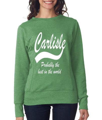 CARLISLE Best City Womens SweatShirts White-ANVIL-Daataadirect.co.uk