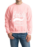 CARLISLE Probably The Best City In The World Mens SweatShirt White-Gildan-Daataadirect.co.uk