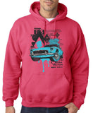 "Classic Car Blue Vintage  Men Hoodies-Hoodies-Gildan-Heliconia-S To Fit Chest 36-38"" (91-96cm)-Daataadirect"