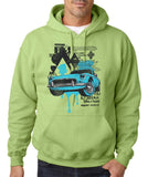 "Classic Car Blue Vintage  Men Hoodies-Hoodies-Gildan-Kiwi-S To Fit Chest 36-38"" (91-96cm)-Daataadirect"