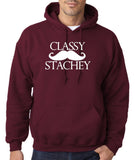 Classy mustache stachey Mens Hoodies White-Gildan-Daataadirect.co.uk