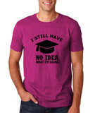 "Clueless Graduate No Idea What Doing Men T Shirt White-T Shirts-Gildan-Antique Helconia-S To Fit Chest 36-38"" (91-96cm)-Daataadirect"
