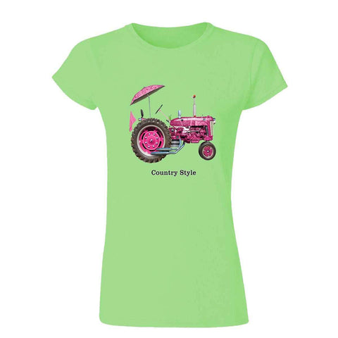 Country Style 19556HL4 Womens T Shirt-Gildan-Daataadirect.co.uk