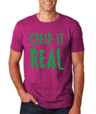"Creep It Real Men T Shirt Green-T Shirts-Gildan-Antique Heliconia-S To Fit Chest 36-38"" (91-96cm)-Daataadirect"