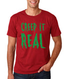 "Creep It Real Men T Shirt Green-T Shirts-Gildan-Cardinal-S To Fit Chest 36-38"" (91-96cm)-Daataadirect"