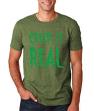 "Creep It Real Men T Shirt Green-T Shirts-Gildan-Heather Irish Green-S To Fit Chest 36-38"" (91-96cm)-Daataadirect"