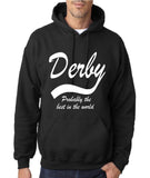 DERBY Best City Mens Hoodies White-Gildan-Daataadirect.co.uk