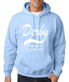 "DERBY Best City Mens Hoodies White-Hoodies-Gildan-Light Blue-S To Fit Chest 36-38"" (91-96cm)-Daataadirect"