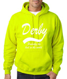 "DERBY Best City Mens Hoodies White-Hoodies-Gildan-Safety Green-S To Fit Chest 36-38"" (91-96cm)-Daataadirect"