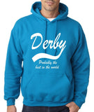 "DERBY Best City Mens Hoodies White-Hoodies-Gildan-Sapphire-S To Fit Chest 36-38"" (91-96cm)-Daataadirect"