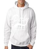 "DERBY Best City Mens Hoodies White-Hoodies-Gildan-White-S To Fit Chest 36-38"" (91-96cm)-Daataadirect"