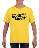Don't judge a book by its movie Black Kids T Shirt-T Shirts-Gildan-Daisy-YXS (3-5 Year)-Daataadirect