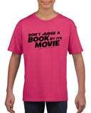 Don't judge a book by its movie Black Kids T Shirt-T Shirts-Gildan-Helconia-YXS (3-5 Year)-Daataadirect