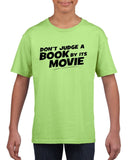 Don't judge a book by its movie Black Kids T Shirt-T Shirts-Gildan-Mint Green-YXS (3-5 Year)-Daataadirect