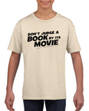 Don't judge a book by its movie Black Kids T Shirt-T Shirts-Gildan-Sand-YXS (3-5 Year)-Daataadirect